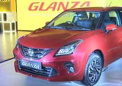 new toyota glanza 2021 this is not used car