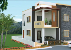 2299 sq ft 3 bhk 3t east facing villa for sale at rs 99.00 lacs in tripura landmark in bachupally, hyderabad