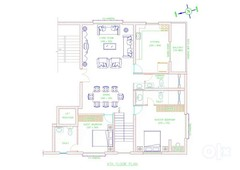 5 bhk penthouse in porvorim... 200m from chogm road... 400m from nh17