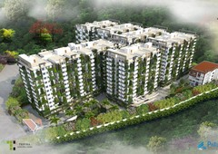1265 sq ft 2 bhk under construction property apartment for sale at rs 75.90 lacs in tripura green alpha in tellapur, hyderabad